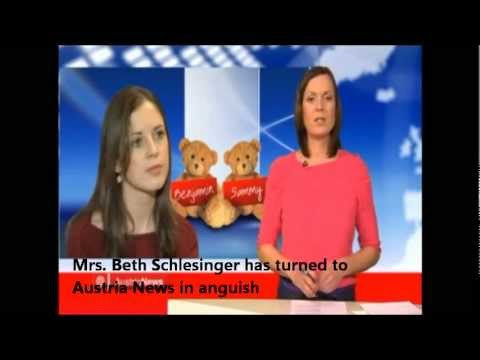 Schlesinger Twins campaign on Austrian News