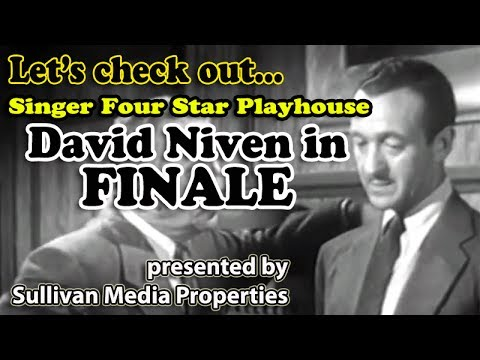 Singer Four Star Playhouse: Finale || a classic TV encore starring David Niven