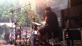 Fit of Wormrot Drumcam @ Obscene Extreme 2012