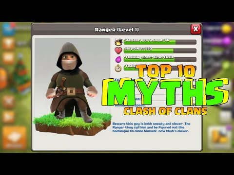 Top 10 Mythbusters In CLASH OF CLANS | COC Myths #22