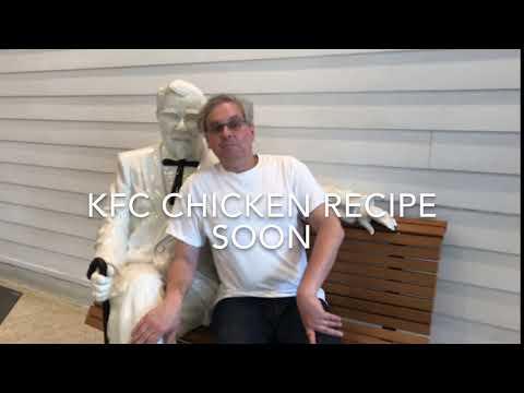 KFC Recipe Teaser #CrackingTheKFCRecipe