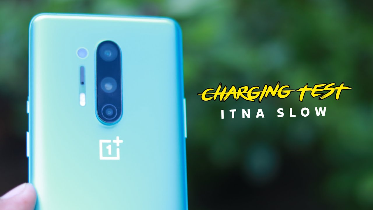 Oneplus 8 pro Charging Test⚡itna *SLOW*😱
