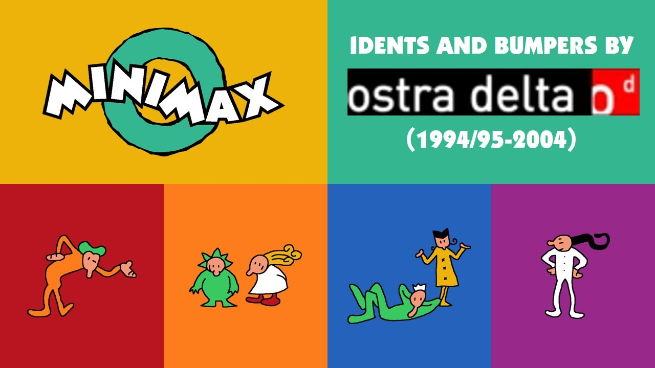 Download Minimax International Idents and Bumpers by Ostra Delta, Spain (1994/95-2004) [REMAKE/REUPLOADED]