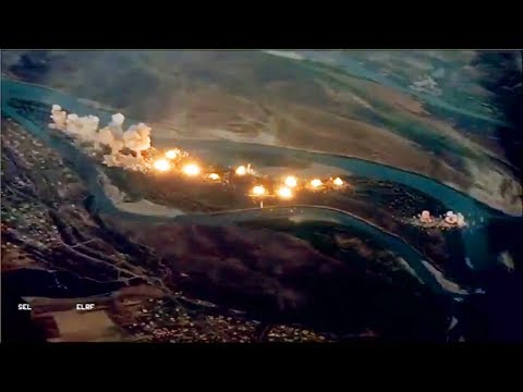 US obliterates 'Isis-infested island' with 40 tonnes of bombs