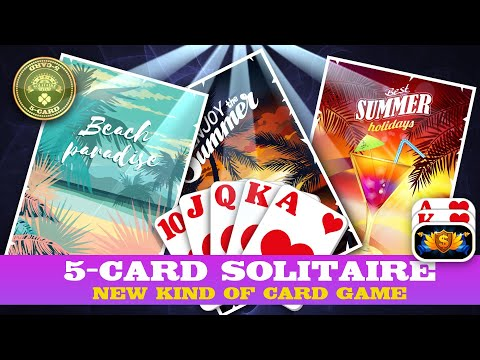 Best Solitaire Game For Android And IOS (5-Card Solitaire) 2019