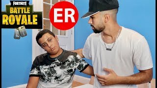 Hamzah Was Rushed To The Emergency Room Because of Fortnite...