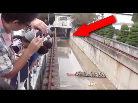 Saat Air Sungai Kering, Warga Kaget!! Tiba² Ada Fenomena Aneh Terjadi! Perhatikan!
