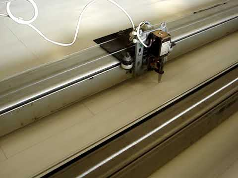 homemade diy cnc plotter cutting bench 1