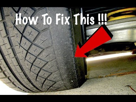 BMW Rear Tire Wear Fix Control Arm Replacement And Wheel Alignment DIY