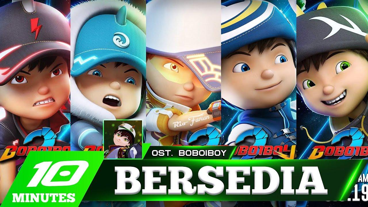 Download OST. BOBOIBOY: BERSEDIA - VERSI BOBOIBOY & MECHAMATO!!! (COVERIO)
