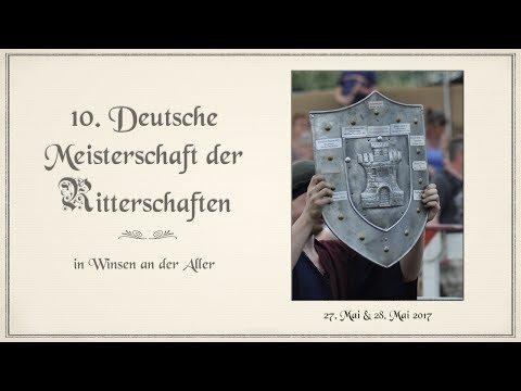 10. Deutsche Meisterschaft der Ritterschaften in Winsen an der Aller - Das Finale