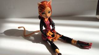 Monster High Doll Toralei Stripe Review