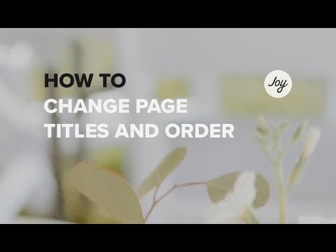 how to change your starting page on a website