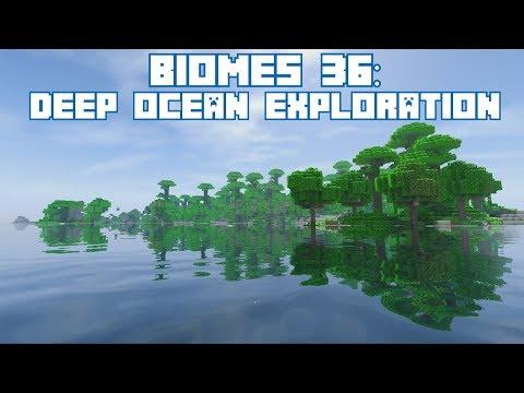400+ Minecraft Biomes 36: Deep Ocean Exploration!