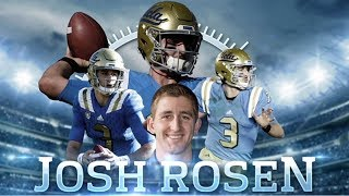 Josh rosen's college & high school highlights & analysis | mts 360 series