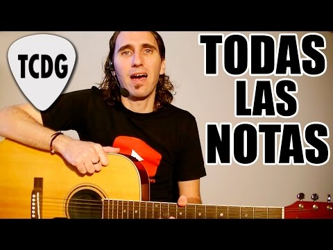 Easy Method To Learn All The Notes On Acoustic Guitar | Beginner Lesson TCDG