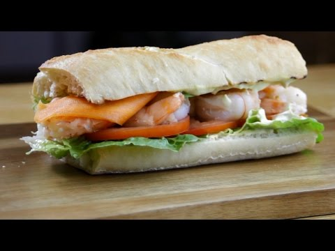 Make A Perfect Shrimp Sandwich Pictures