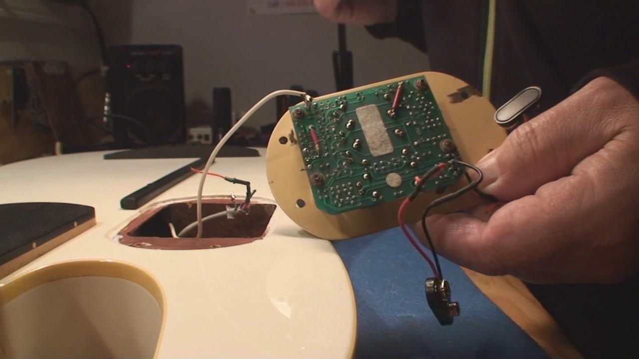 godin l r baggs fretless bass guitar part 1 youtube input output wiring diagram