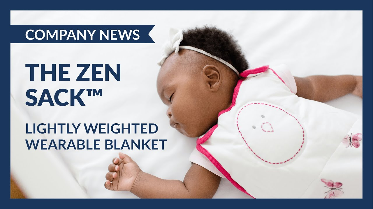 hot sale online da40a 70665 The Zen Sack by Nested Bean: Lightly Weighted Wearable Blanket for your  baby 0-24 months