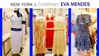NEW YORK & Company Dresses EVA MENDES Collection and MORE June 2019