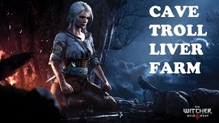 The Witcher 3: Wild Hunt Cave Troll Liver Farm
