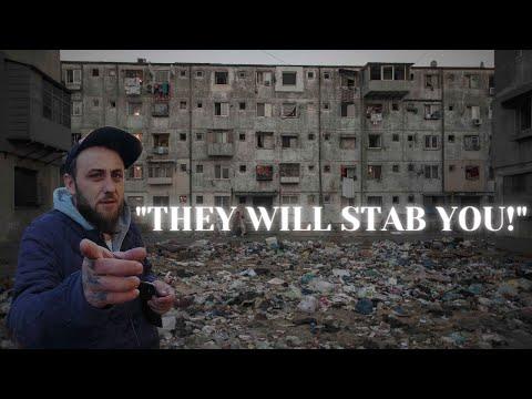 Most Dangerous Hood in Bucharest Romania | Ferentari - Aleea Livezilor 🇷🇴