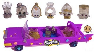 Limited Edition Season 10 Shopkins Cupcake Queen Friends In Limo Car