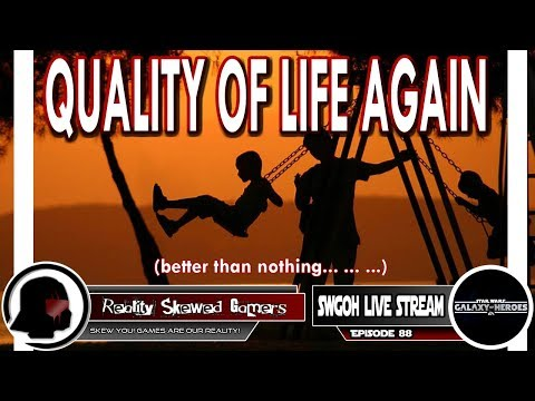 SWGOH Live Stream Episode 88: Quality of Life Again | Star Wars: Galaxy of Heroes #swgoh