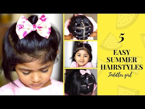 Baby Angel Hair Styling 2 Year Old Baby Girl Youtube