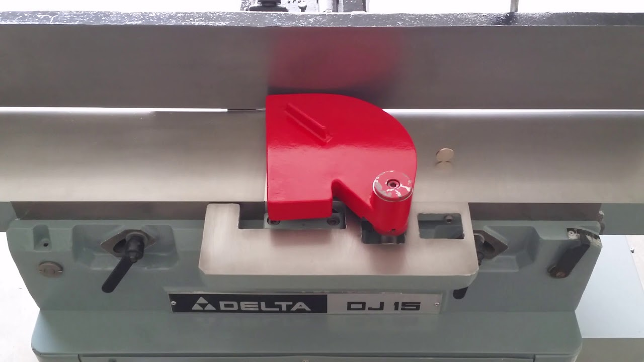 Delta jointer guard retaining ring new style