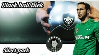 Black ball trick in silver pack || PES 2019 MOBILE
