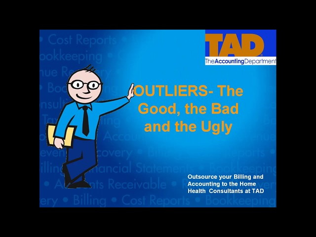 Outliers the Good the Bad and the Ugly