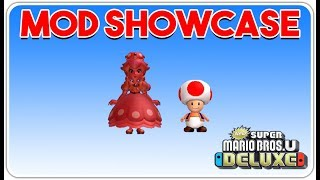 Red Toad & Pink Gold Peachette in New Super Mario Bros. U Deluxe