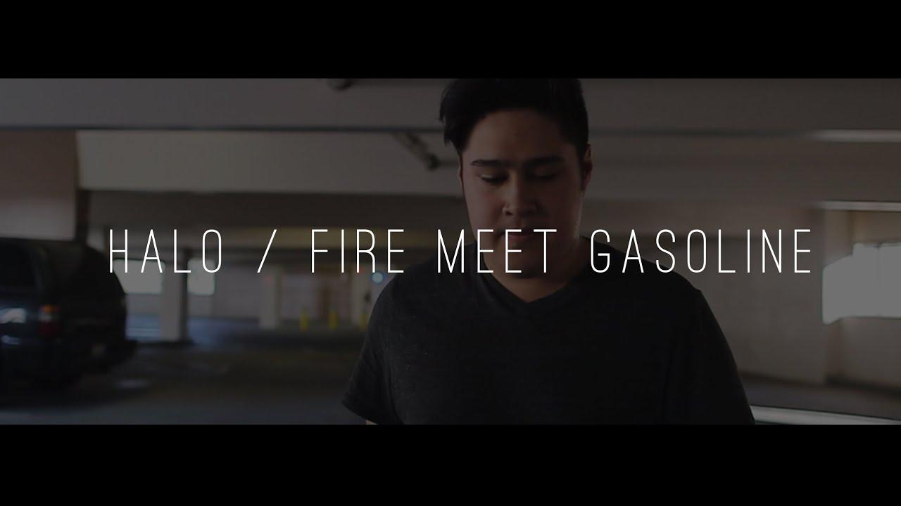 sia fire meet gasoline sounds like beyonce halo