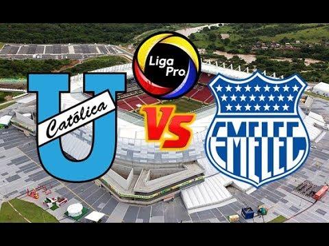⚽ Universidad Católica vs Emelec ⚽ EN VIVO en directo | Audio Narración | Liga Pro 2019 from YouTube · Duration:  1 hour 13 minutes 59 seconds