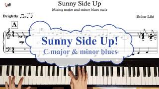 Learn to play the blues: Sunny side up Blues Etude