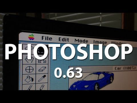 An Old Version of PhotoShop (0.63)