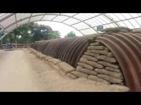 Khám phá bên trong hầm De Castrie tại Điện Biên Phủ