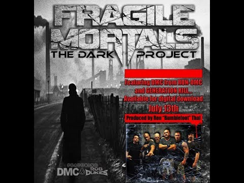 "Fragile Mortals feat. DMC/Rob Dukes album The Dark Project ""the making of"" video ..!"