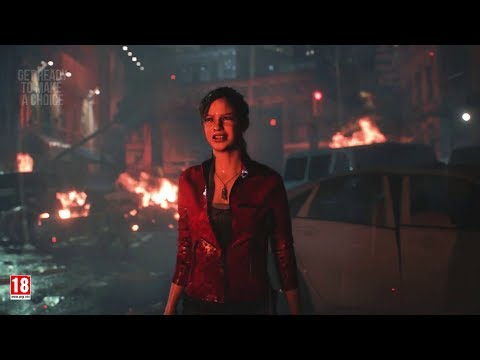 Resident Evil 2: Remake - Follow Claire!