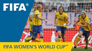 Greatest Women's World Cup Goal? HAMMARSTROM in 2011