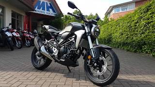 HONDA CB 300 R Neo Sports Cafe 2018 Walk Around SOUNDCHECK BEI MOTORRAD HUCHTING