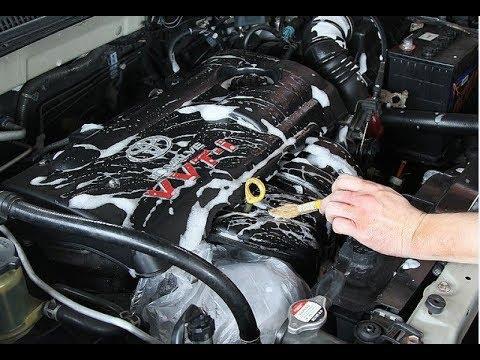Cara cuci mesin mobil Injeksi