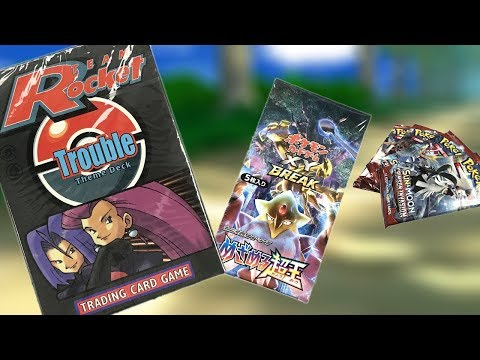 Wacky Wednesday: Team Rocket's Trouble Theme Deck, Japanese Fates Collide Box, and more