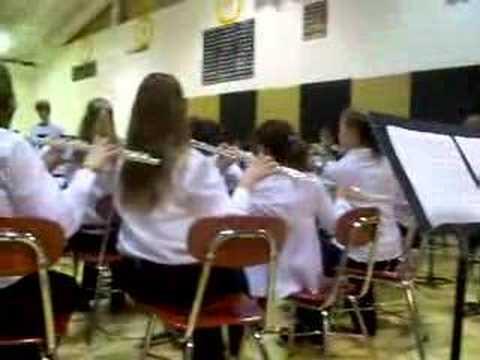 Fort Branch Community School Band Christmas