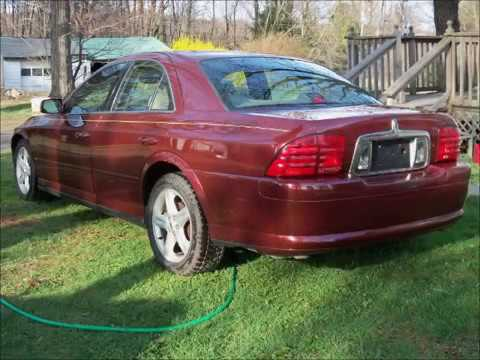 2000 Lincoln LS - YouTube