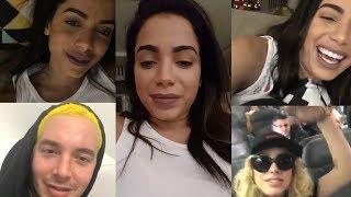 Anitta | DUAL Instagram Live Stream | 24 November 2017 w/ J Balvin , Lele & More