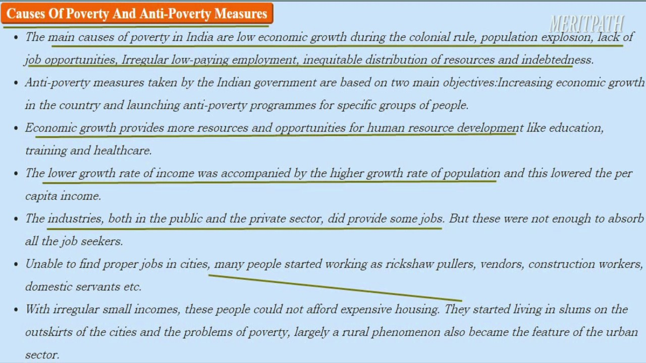 essay for anti low income procedures throughout india