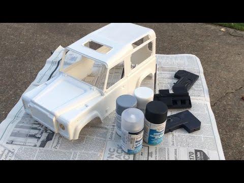 Gmade Sawback D90 Land Rover Defender Build Update 1