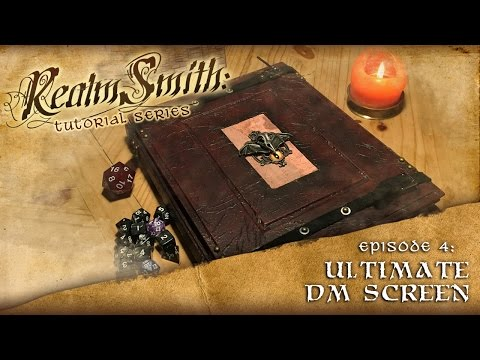 How to Build the Ultimate DIY DM Screen: Realmsmith Episode 4